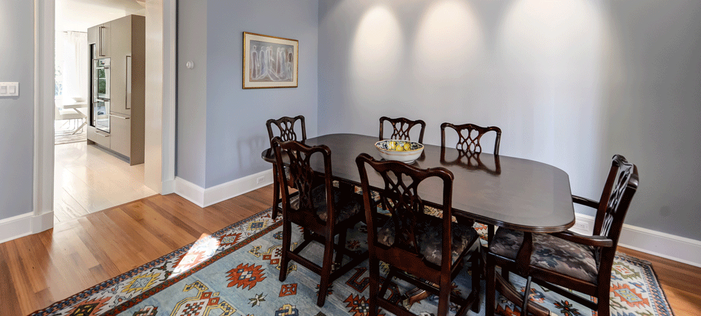 Dunn-Right Contracting - dining room furniture in remodeled space