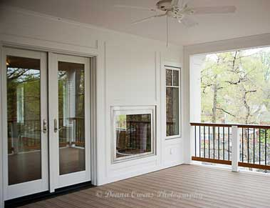 Dunn-Right Contracting - remodeled porch