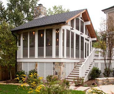Dunn-Right Contracting - porch and patio enclosure