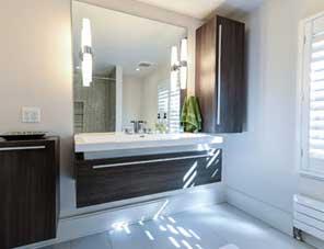 modern bathroom architectural design