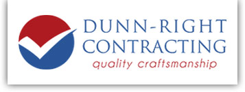 Dunn-Right Contracting Quality Craftsmanship Logo