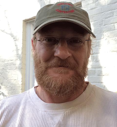 Paul Novak - master carpenter and superintendent on projects