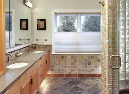 Dunn-Right Contracting - renovated bathroom