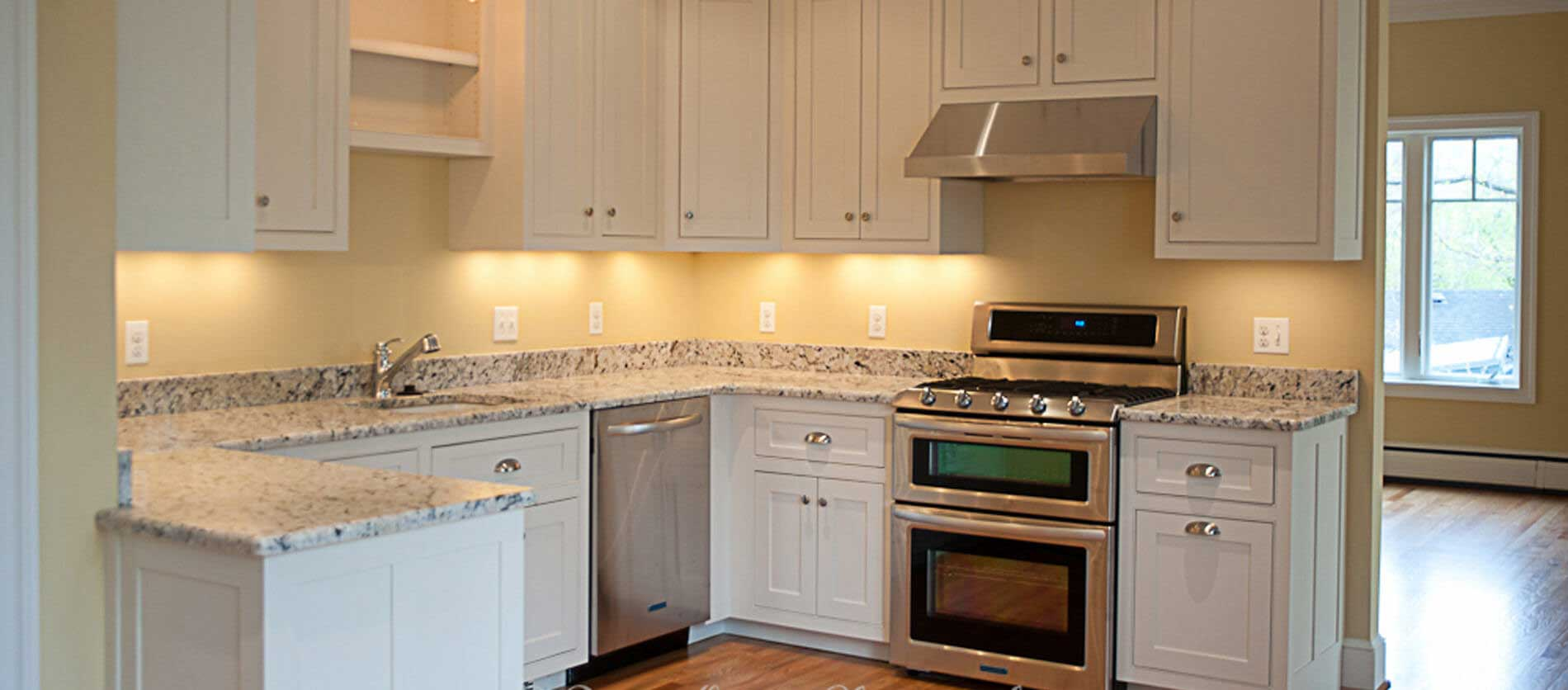 Dunn-Right Contracting - Open kitchen design